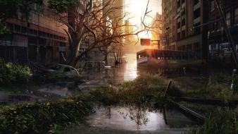 Streets flooded the last of us Wallpaper