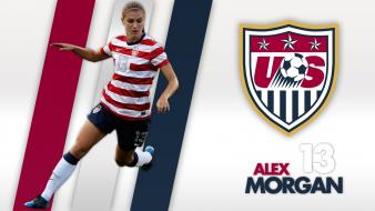 Stripes alex morgan uswnt us soccer wallpaper
