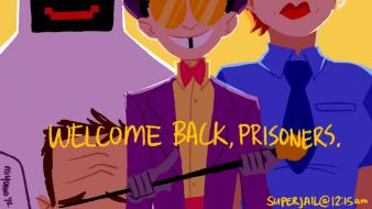 Superjail cane the warden jailbot jared (superjail) alice Wallpaper