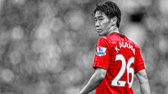 United fc premier league cutout shinji kagawa wallpaper