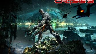 Video games futuristic crysis 3 wallpaper