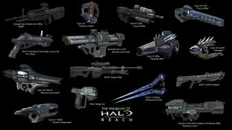 Video games halo weapons reach wallpaper