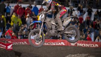 Yamaha james stewart ama supercross js7 wallpaper