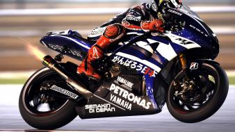 Yamaha motorbikes motorcycles racing bike wallpaper