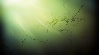 Abstract silence wallpaper