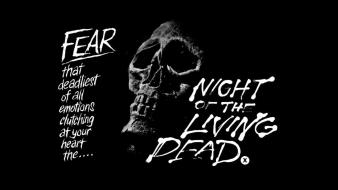 Black and white night of the living dead Wallpaper