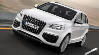 Cars audi q7 suv german Wallpaper