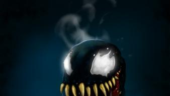 Cartoons comics venom marvel drawings wallpaper