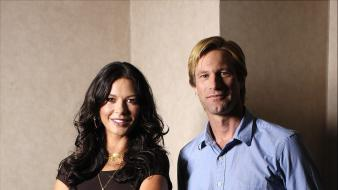Catherine zeta jones aaron eckhart wallpaper