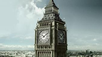England britain london big ben clock tower wallpaper
