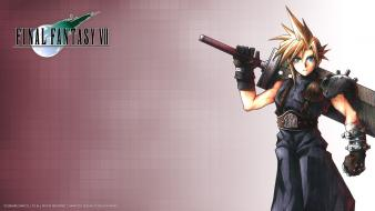 Final fantasy vii advent children cloud strife wallpaper