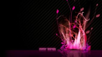 Flowers pink vector creativity wallpaper