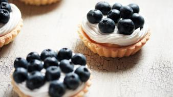 Fruits food blueberries dessert tarts wallpaper