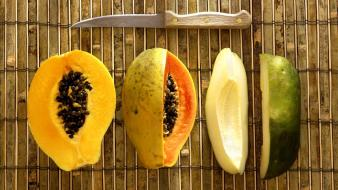 Fruits papaya wallpaper