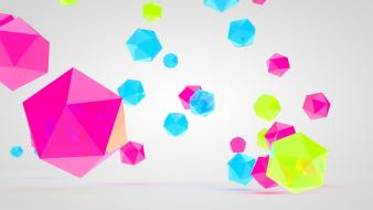 Geometry gems mangotangofox 3d wallpaper