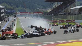 Grosjean bruno senna spa francorchamps pastor maldonado wallpaper