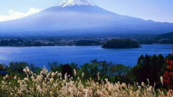 Japan landscapes mount fuji wallpaper