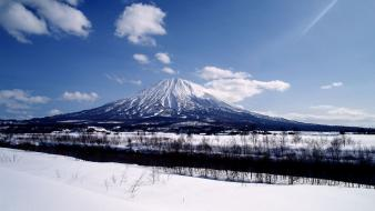 Japan landscapes winter mount fuji Wallpaper