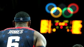 Lebron james baskets olympics 2012 wallpaper
