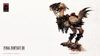 Legacy final fantasy xiv chocobo yoshida akihiko wallpaper