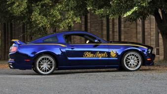 Muscle cars blue angels widescreen 2012 mustang wallpaper