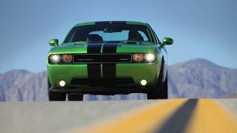 Muscle cars hdr photography widescreen Wallpaper