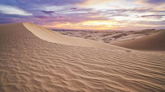 Nature sand desert sky Wallpaper