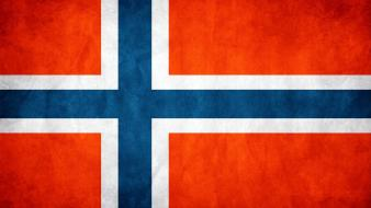 Norway flags wallpaper