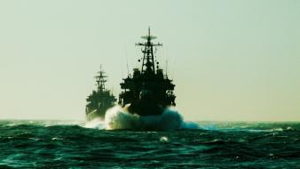 Ocean military ships russian navy wallpaper