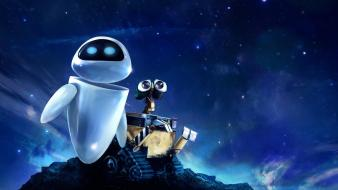 Pixar movies wall-e fantasy art wallpaper