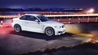Runway white bmw 1 series m coupe Wallpaper