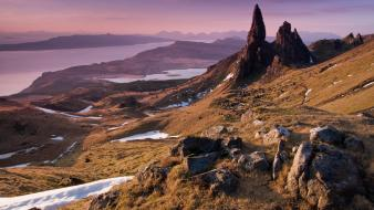 Scotland lakes isle of skye old people wallpaper