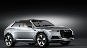 Studio audi concept art coupe crosslane car wallpaper