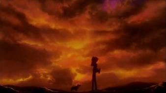 Sunset cowboy bebop ein edward wallpaper