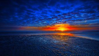 Sunset nature seascapes wallpaper
