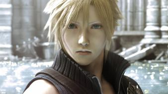 Vii advent children cloud strife crisis core wallpaper