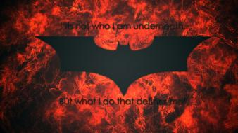 Batman dc comics quotes the dark knight wallpaper