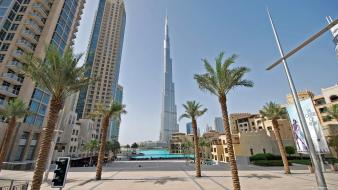 Buildings dubai cities burj khalifa wallpaper