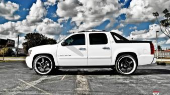 Cars chevrolet avalanche vossen wallpaper