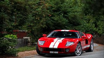 Cars ford red gt40 wallpaper
