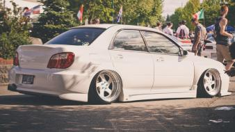 Cars subaru impreza jdm hella flush wallpaper