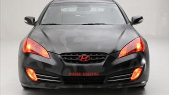 Cars vehicles hyundai genesis coupe front view wallpaper