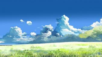 Clouds nature makoto shinkai wallpaper