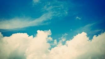 Clouds nature skies wallpaper