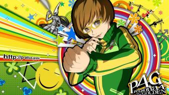Colors watermark fighters satonaka chie soejima shigenori Wallpaper