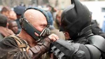Comics bane hero the dark knight rises wallpaper