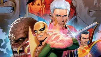 Comics iron fist marvel vs capcom 3 wallpaper
