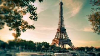Eiffel tower cityscapes french view wallpaper