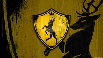 Game of thrones emblems house baratheon Wallpaper