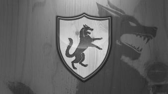 Game of thrones emblems house stark wallpaper